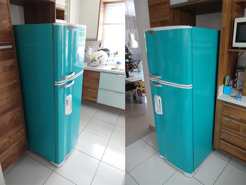 geladeira-azul-turqueza-geladeiraenvelopamentocuritiba